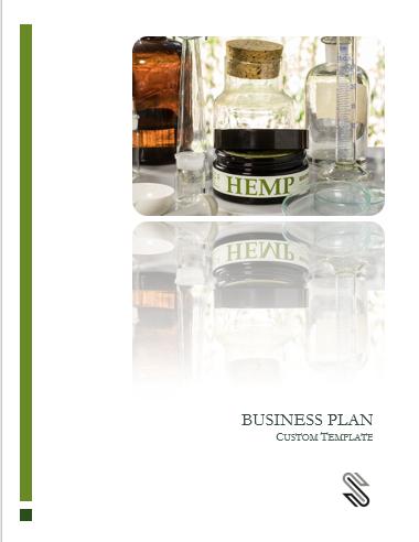 Hemp Cultivation + CBD Extraction Business Plan Template